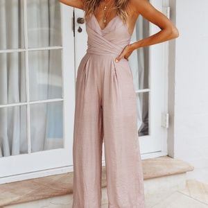 Hello Molly - Mocha Jumpsuit